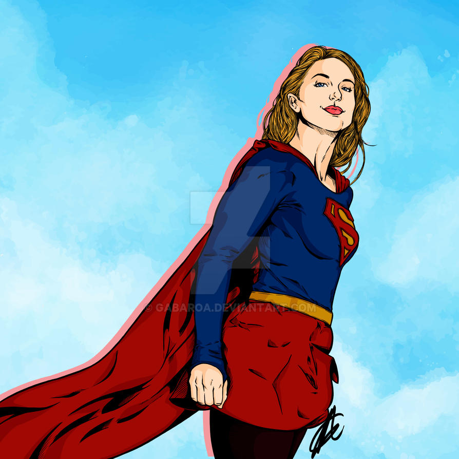 SuperGirl 2015 by GabAroa