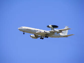 Boeing E-3 Sentry AWACS by SLippe