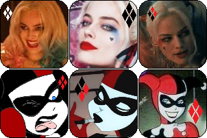 Harley Quinn Avatars by pamixx