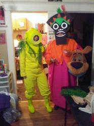 Scooby villains by pamixx