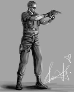 Albert Wesker--captain