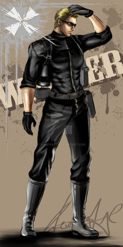 Albert wesker1989 by xiaofeihui