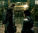Wesker and Sheva 01