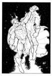 Superman VS Black Adam (super Ink)