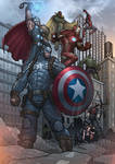 The Avengers - Earth's Mightiest Heroes (Colour)