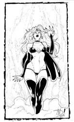 Lady Death - Sketch