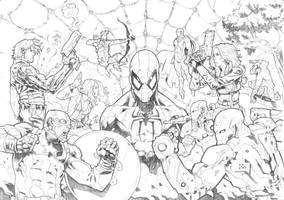 Captain America - Civil War (Commission) by darnof