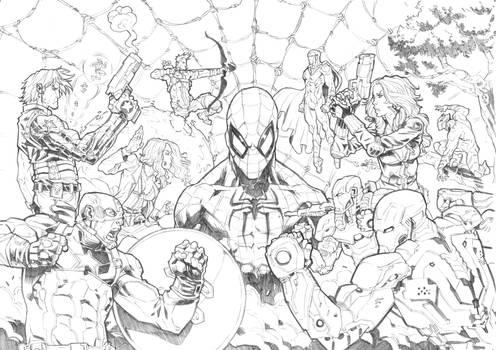 Captain America - Civil War (Commission)