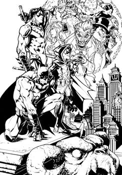Batman - The Evil Moon - Commission