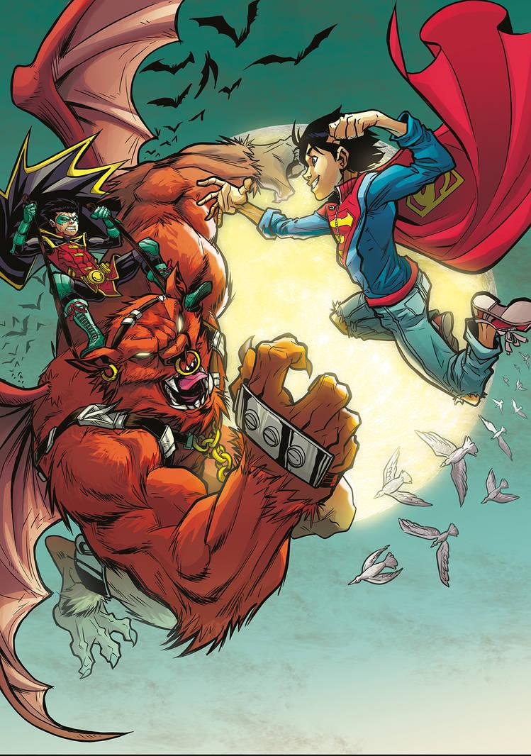 Super Sons Commission - Colors
