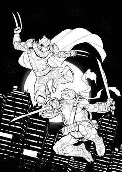 Shredder VS Leo