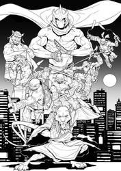 TMNT - Grande Illustrazione by darnof
