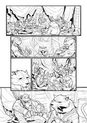 TMNT - PAGE 01 by darnof