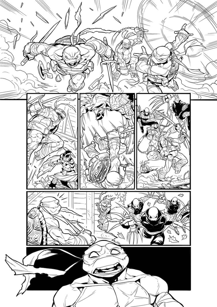 TMNT  - PAGE 03 by darnof