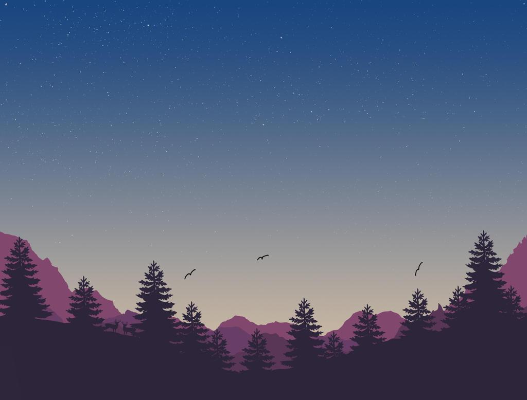 4K - Landscape Wallpaper by F0w3n
