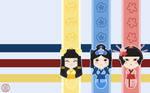 Kokeshi Doll Wallpaper