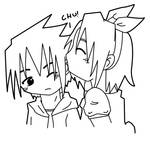 SasuSaku: Ear Chu