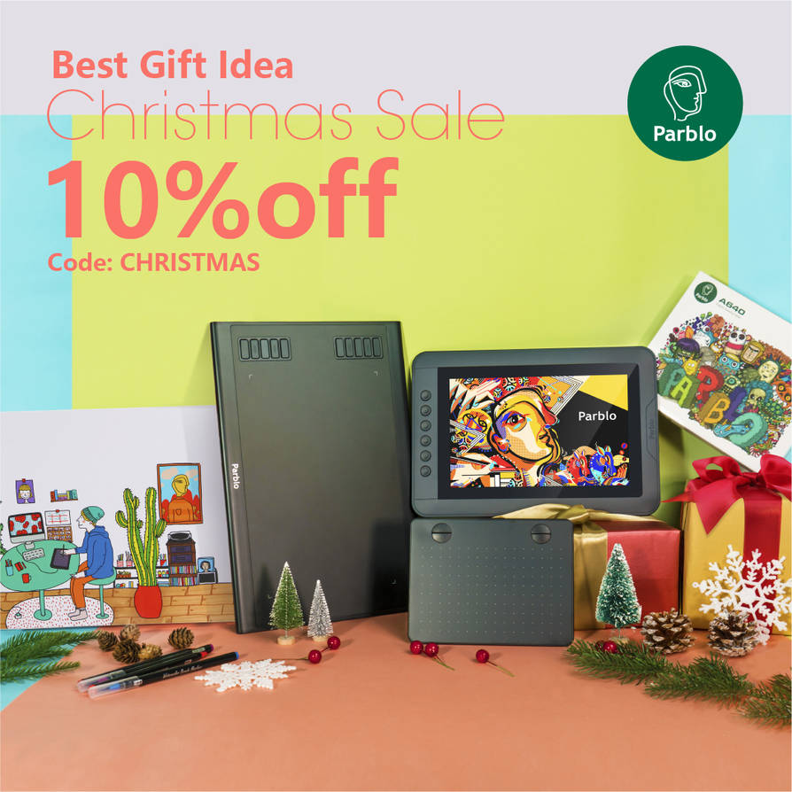 Christmas Deal 2018 by parblo-tablet