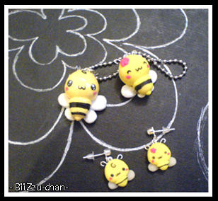 BiiZzu-chan Charms and Earring by BiiZzU-chan
