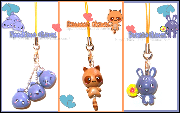 Charms Set by BiiZzU-chan