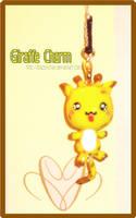 Giraffe Charm by BiiZzU-chan