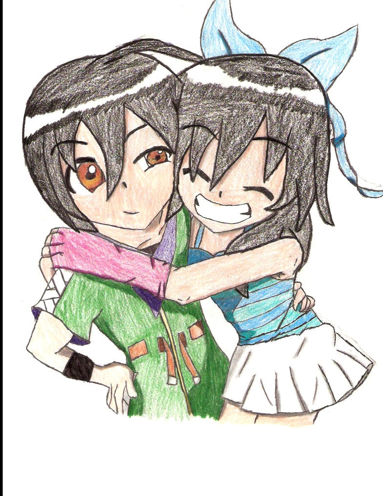 Aina and Shun by Kenichi-kurosaki15