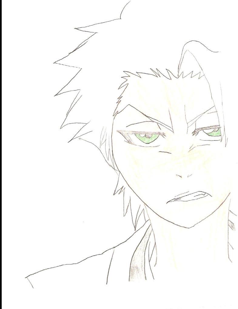Toshiro Sketch. by Kenichi-kurosaki15