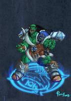 Frostwolf Chieftain Durotan by pulyx