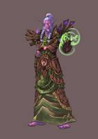 Comission - Nightelf Druid by pulyx