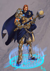 Uther, The Lightbringer by pulyx