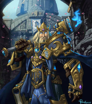 World of Warcraft Tribute-  King Arthas Menethil by pulyx