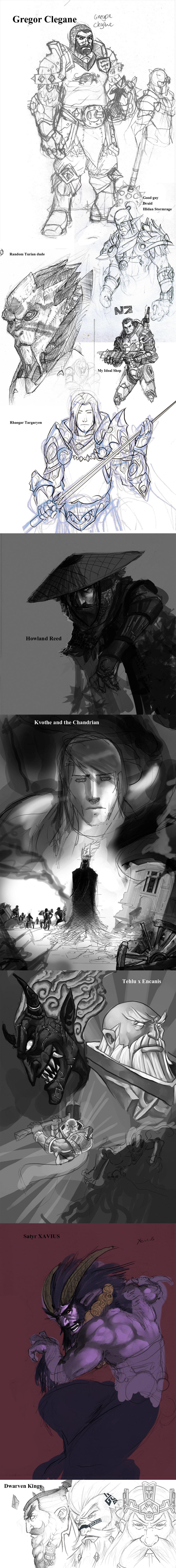 Sketch Dump Time!