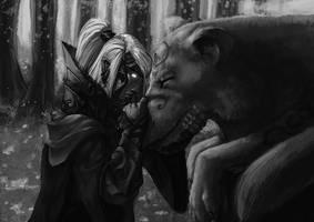 Silmarillion - Orome and Huan