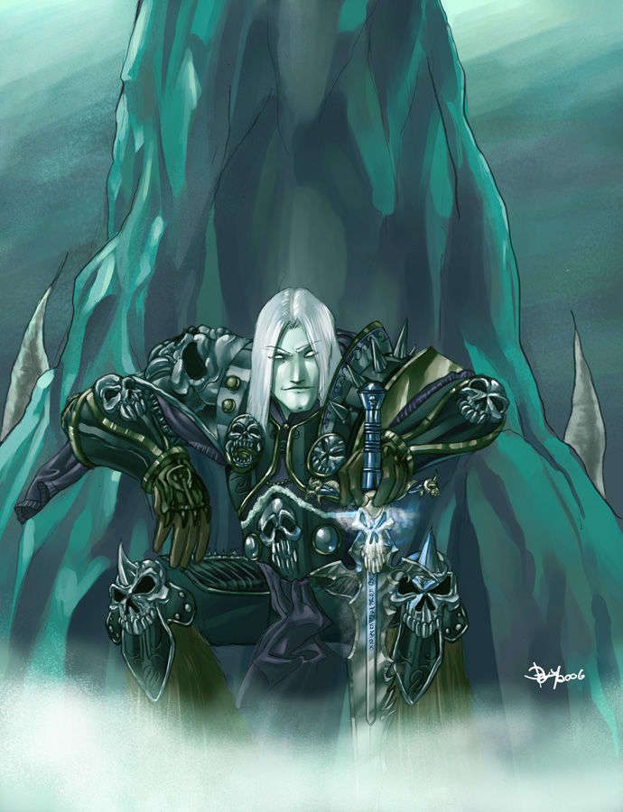 Arthas Menethil The Lich King By Pulyx On Deviantart