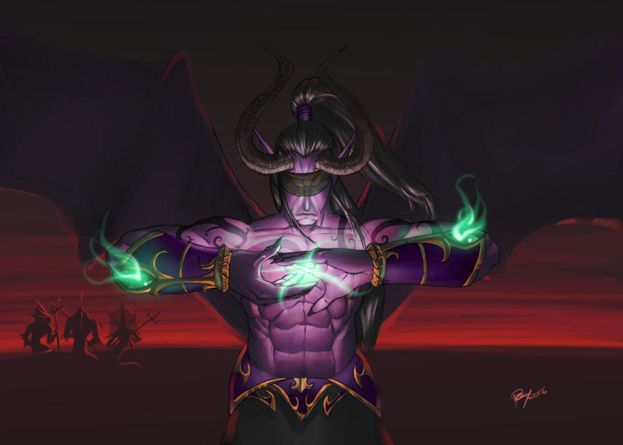 Illidan, The Betrayer by pulyx