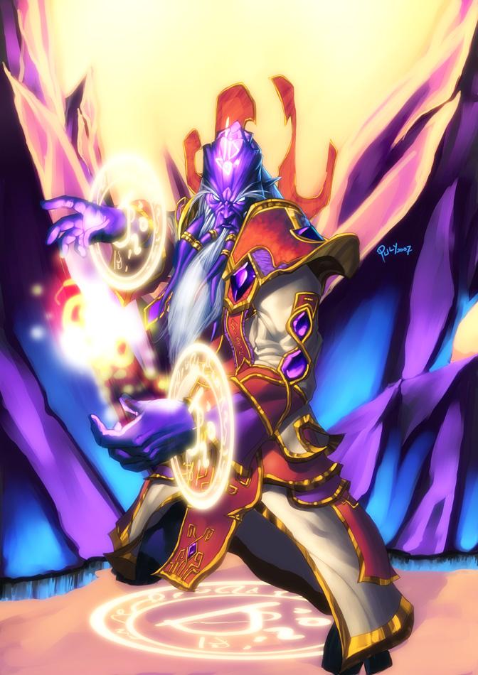 Prophet Velen, The Divine by pulyx