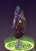 Young Malfurion Stormrage by pulyx