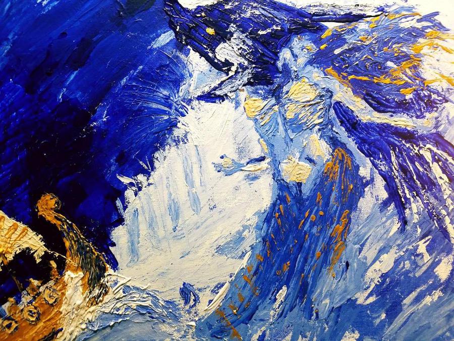 Painting My Life Away: BEEBAA Art Challenge 2 Fini by omarkaviles