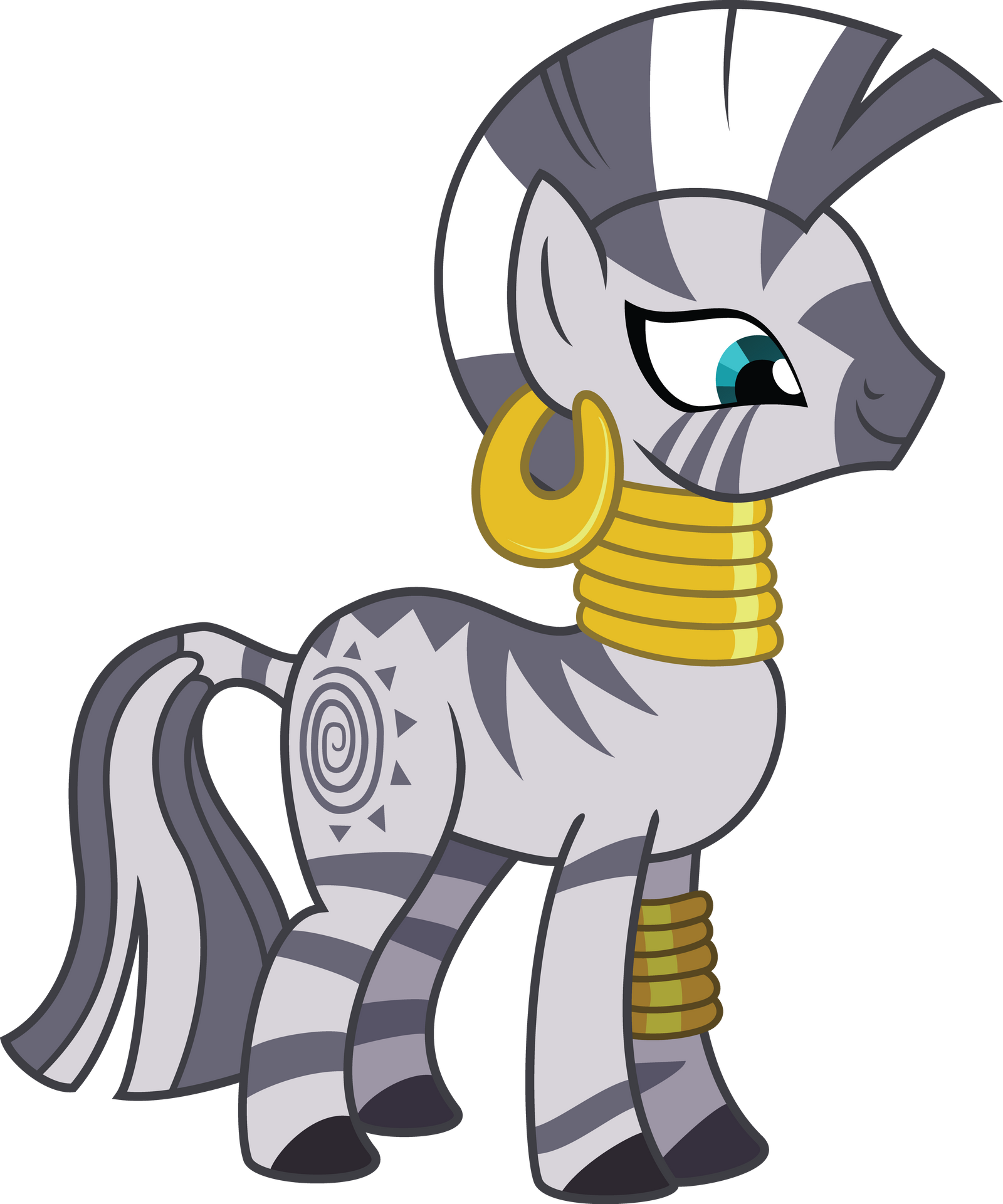 My Little Pony Zecora Coloring Pages : Smiling zecora by chezne on deviantart