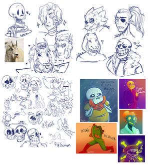 Undertale Doodle Dump