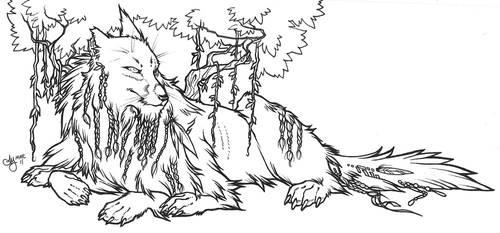 Futureproject: wolf spirit by shortissimus
