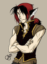 Character snapshot: Vandal by shortissimus