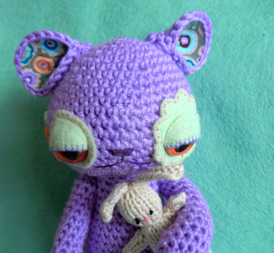 Ginger the bedtime omnipom - amigurumi alien by lizduttons ...