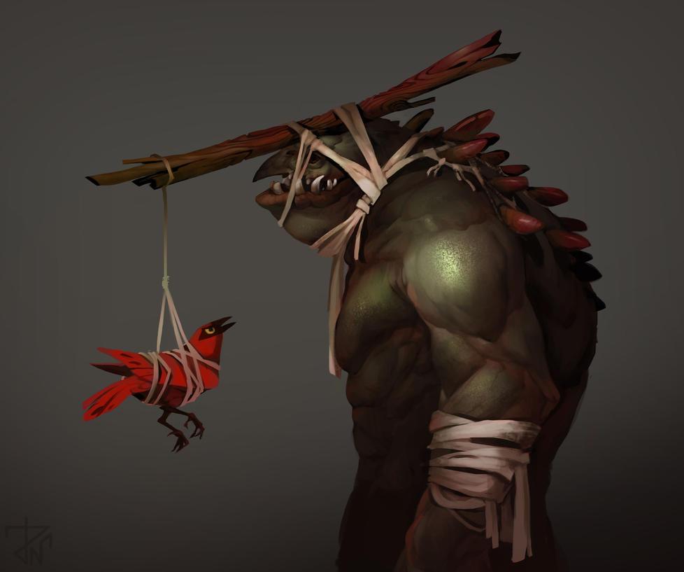 Random creature by deathnear