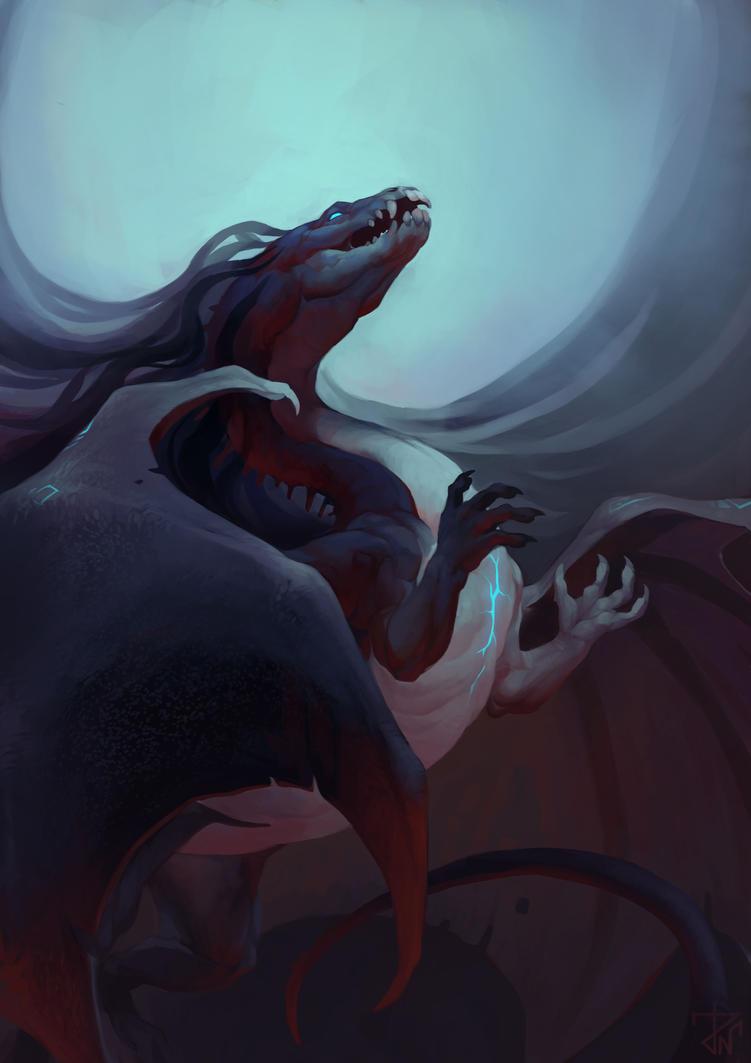 Dragon by deathnear