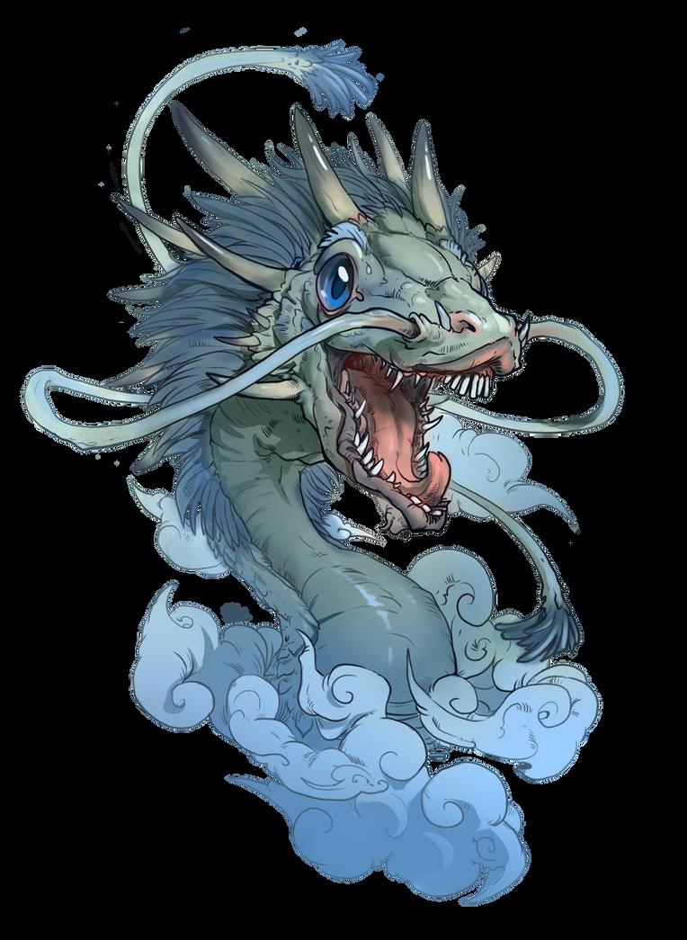 Dragon head by deathnear