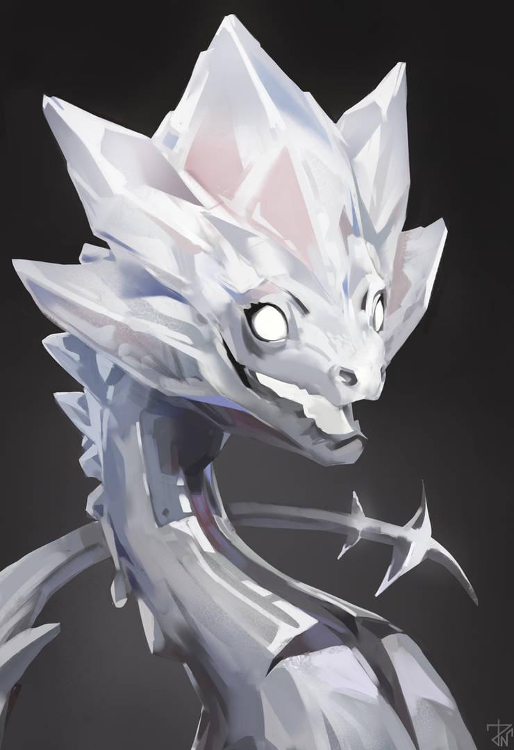 White diamond by deathnear
