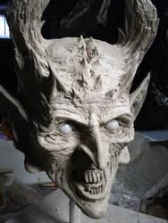 Satan's little Helper by Happy Sculptures