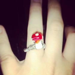 Mushroom Ring by Eve Renee