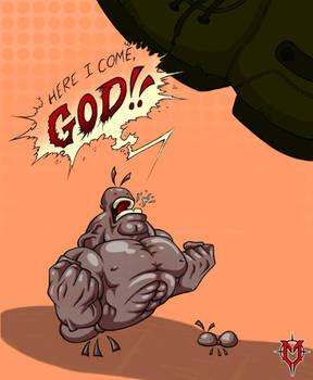 Here I come, GOD! by Masebreaker
